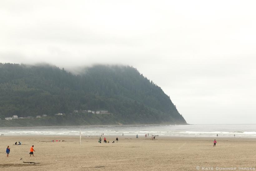 Beach at Seaside, Oregon