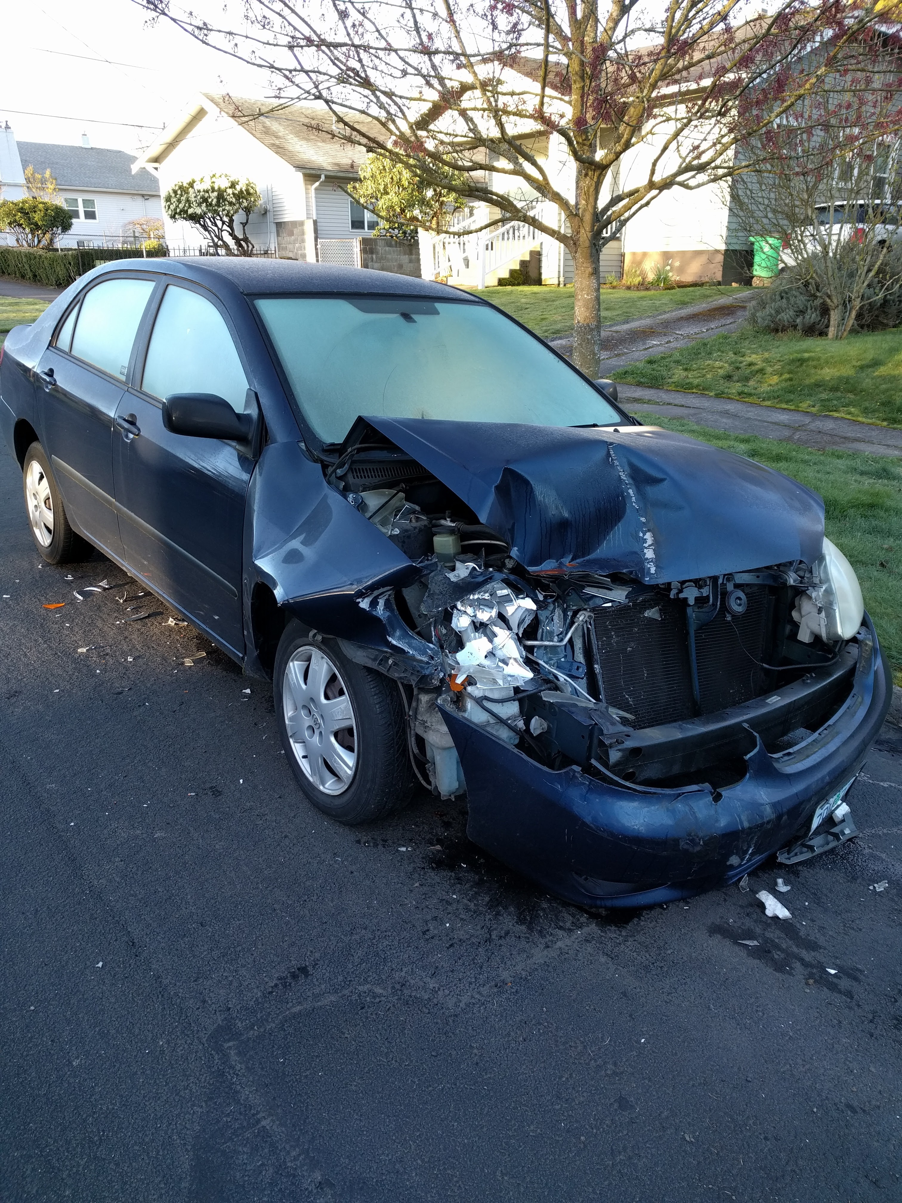 Uncategorized pictures of car accidents bad car - Totaled